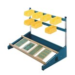 "MB Manufacturing CS-36 36"" Combo-Slide Rack with Two PCB Slide Rails"