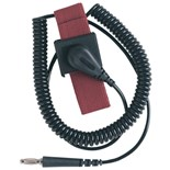 Desco 09039 Wrist Strap with 6' Cord, 4MM Snap