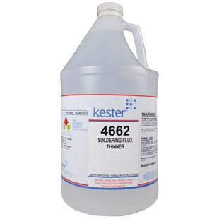 Kester 4662 Thinner for Water-Soluble Fluxes, 1 Gallon