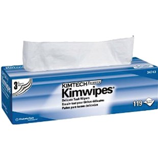 """Kimberly-Clark 34743 Disposable Wipers, 12""""x 12, 119 Wipes/Box, 15/Boxes/Case"""