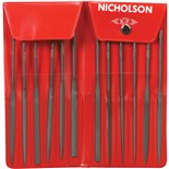 Nicholson 37392 Nicholson File Set Need le #0 Cut 12 Pc. 5-1/2