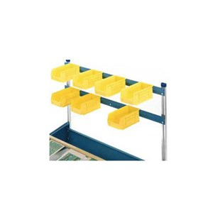 "MB Manufacturing CSB-48 Optional 48"" Parts Bin Rack"