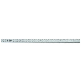 """General CF1249MD General Tools Ruler 1/2""""X12"""" 10ths 100th's mm 0.5mm"""
