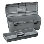 "Flambeau 19800-2 Tool/Storage Box, 18-1/8 x 6-1/2 x 7-1/8"" I.D."