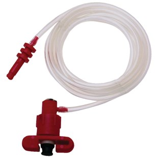 Weller KDS505S-6 Plastic Adapter Assembly with 6' Hose, 5CC