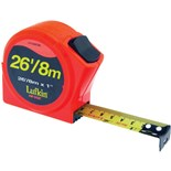 "Lufkin HV1048CME Hi-Viz® Orange Series 1000 Power Tape Measure, 1"" x 26'"