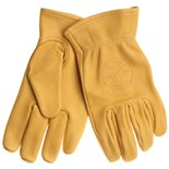 Klein 40021 Cowhide Work Gloves, Medium