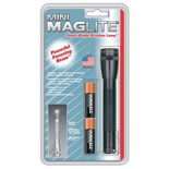 Maglite M2A016 Maglite Mini Incandescent Flashlight, 2-Cell AA