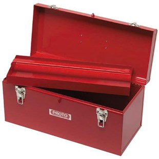 Proto J9975 Heavy Duty Red Toolbox with Removable Tray