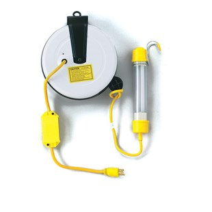 Saf-T-Lite 3313-4000 Stubby Worklight with 40' Power Reel