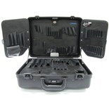 Jensen Tools 191-133 Black Deluxe Poly Case/Pallets only