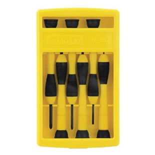 Stanley 66-052 6-Piece Precision Screwdriver Set