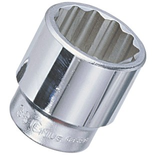 "Genius Tools 635237 3/4"" Drive Socket 37mm"