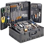 "Jensen Tools JTK-3602 Master Field Service Toolkit w/ 10"" Deep Roto Rugged Case- 3600 Series"