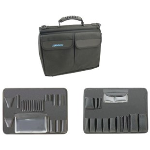 Jensen Tools 216-030 Single Black Ballistic Case with Pallets only for JTK-2900