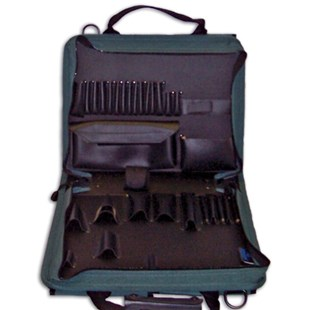 Jensen Tools C1176JT Single Gray Cordura Case, with pallets only