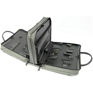 Jensen Tools 216B701 Double Gray Ballistic Case and Pallets for JTK-7500DBL