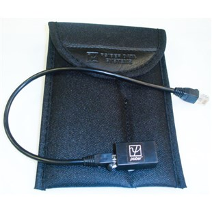 """Psiber LM20-AP1 Nylon carrying pouch, 16"""" RJ-45 Patch cable, Female-to-female RJ-45 coupler"""