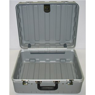 "Jensen Tools 181408-2G1149 Rota Tough Cleanroom Case, Gray, 8"" Deep"