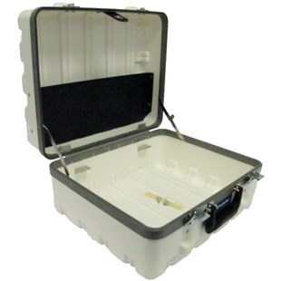 Jensen Tools 1609-2W-044-1 Super Tough Case, White.  Empty  9-1/4""