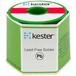 Kester 2463376401 Solder Wire, Water Soluble, Leaded, Sn63Pb37, 3.3%, 0.020 in (0.50 mm), 331 Series
