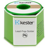 Kester 24-7068-7600 Solder Wire, No Clean, Lead Free, Sn96.5Ag3Cu.5 (SAC305), 1.1%, 0.025 in (0.60 mm), 275 Series