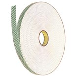3M 051141-25381 Double Sided Foam Tape, 1 x 4 yds