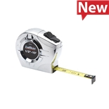 Lufkin P2210MEXN Tape Measure, 1/2 ft. x 10 ft., Metric/Decimal, Chrome, A36