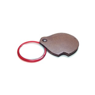 Grobet 29.684 PEER® Pocket Magnifier Eye Loupe with Attached Leather Case