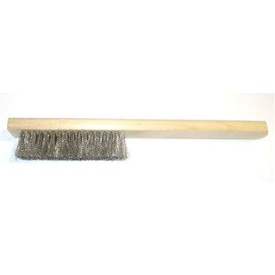 "Grobet 16.350 Steel Scratch Brush, 8"" Long"