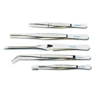 Grobet 57.936 All-Purpose Tweezer Kit, 5 pc.