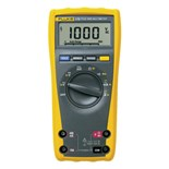 Fluke 175 True RMS DMM with 9V Battery, Test Leads and User Manual