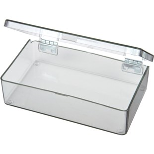 Flambeau 5200CL Parts Box with 1 Compartment, 4-1/2 x 2-3/4 x 1-1/8""