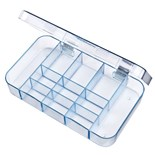 Flambeau 5127CL Parts Box with 11 Compartments, 7 x 4 x 1-1/16""