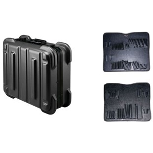 """Jensen Tools 356-171 9"""" Black Rugged Duty Poly Case w/Pallets only"""