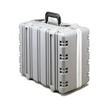"Jensen Tools Super Tough Case, Empty, Gray  9-1/4"" Deep"