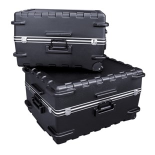 Jensen Tools Medium-Duty Pull Handle Shipping Cases on Wheels