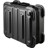 "Jensen Tools 356B871 Black Rugged Duty Case, "" w/Pallets only"