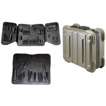 Jensen Tools 356B990 Rugged Duty Poly Case with Pallets Only