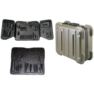 Jensen Tools 356-990 Rugged Duty Poly Case with Pallets Only