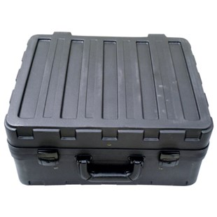 "Jensen Tools 181408-32B-540-2 Rota-Tuff Case w/ Foam Partitions,  8"" Deep"