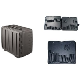 Jensen Tools 377B093 Xtra Rugged Rota-Tough Case with Pallets Only