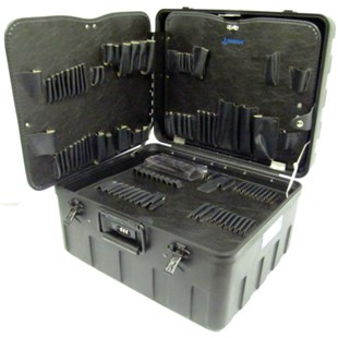 Jensen Tools 377-120 X-tra Rugged Rota-Tough™ Case w/ pallets only