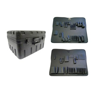 """Jensen Tools 377-224 Regular X-Tra Rota-Tough Case and Pallets Only 8"""""""
