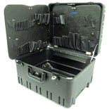 "Jensen Tools 377-243 8"" Roto-Rugged™ wheeled case w/pallets only"