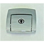 10M015 Replacement Chrome Latch Kit for Super Tough, Roto Tough, and Poly Cases