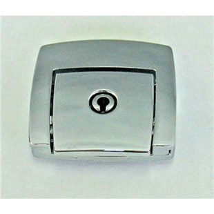 CH Ellis Co, Inc. 10M015 Replacement Chrome Latch Kit for Super Tough, Roto Tough, and Poly Cases