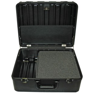 "Jensen Tools 181408-32B-530 Rota-Tough Tool Case 8"" Deep, with Foam Compartment"