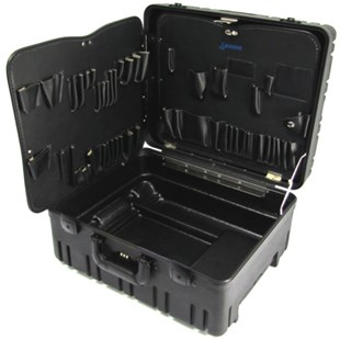 "Jensen Tools 377-247 10"" Roto-Rugged™ wheeled case w/Pallets only"