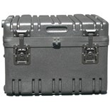 Jensen Tools RR1814-12TWFBK Rotationally Molded Case with Built-in Cart, Foam Filled 17 3/4x14 1/2x12